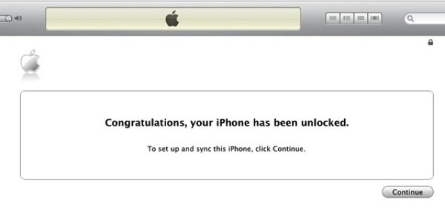 itunes imei unlock